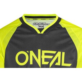 ONeal Element FR maglietta a maniche lunghe Uomo Blocker giallo/nero